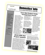Domestics Info Newsletter